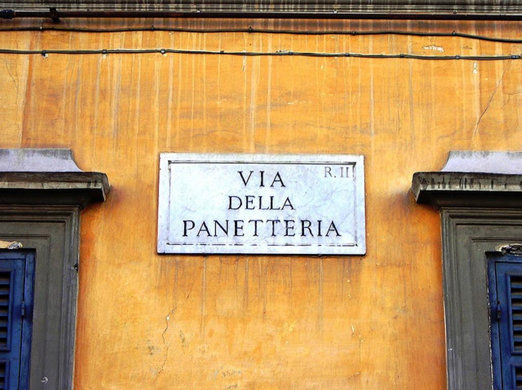Roma Toponomastica origine dei nomi delle vie