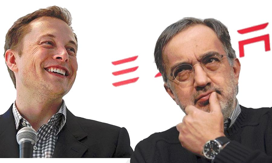 Marchionne Incontra Elon Musk Silicon Valley