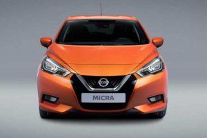 Nuova Nissan Micra 2017 Frontale