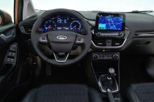 Ford Fiesta 2017 Interni