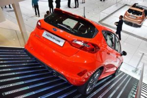 Ford Fiesta 2017 ST Line Posteriore