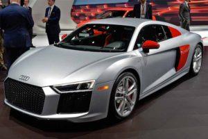 Nuova Audi R8 Coupe Audi Sport Edition lato