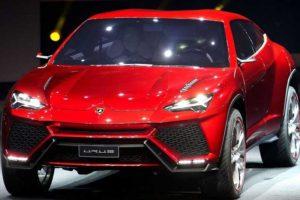 nuova Lamborghini Urus frontale