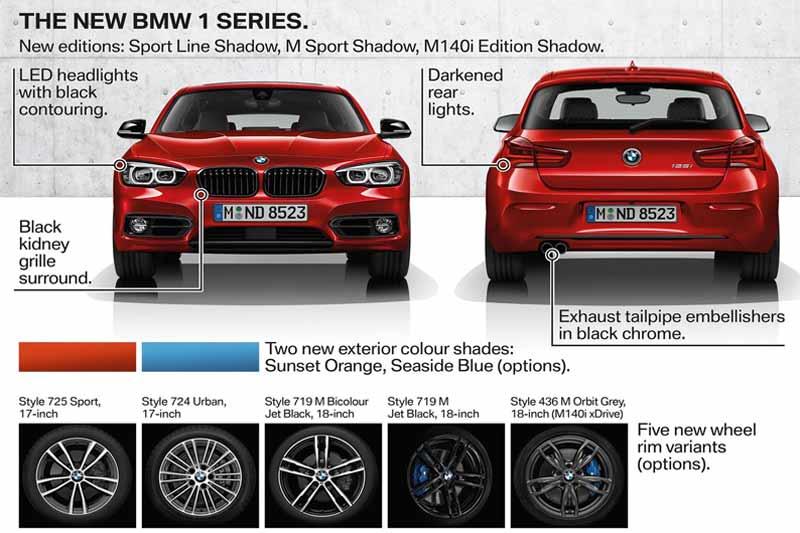nuova bmw serie 1 2017 specifiche
