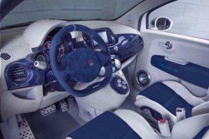 Fiat 500 Gianni 350 gp interni