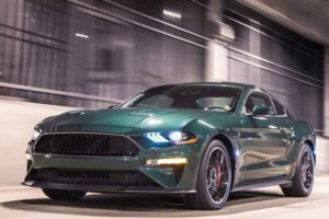 Nuova Ford Mustang 2018 lato