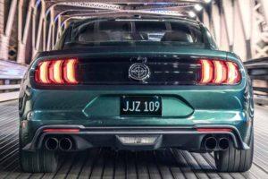 Nuova Ford Mustang Bullitt 2018 posteriore