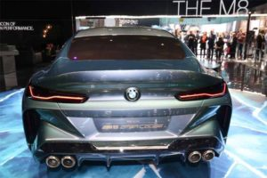 BMW Concept M8 Gran Coupè posteriore