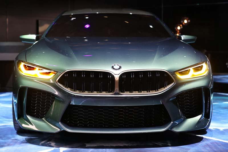BMW Concept M8 Gran Coupè