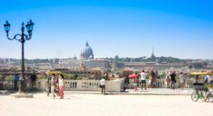 location romantiche a roma il pincio