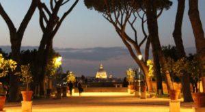 le terrazze più belle di Roma: parco degli Aranci