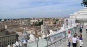 le terrazze più belle di Roma: Vittoriano