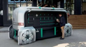 ezpro furgone guida autonoma renault visuale