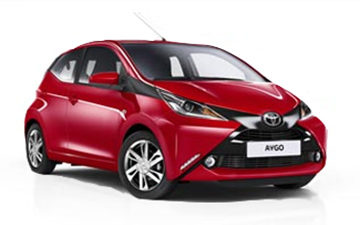 Prenota Toyota Aygo