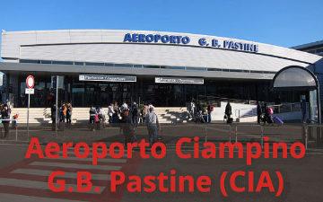 Sede Aeroporto Ciampino G. B. Pastine (CIA)
